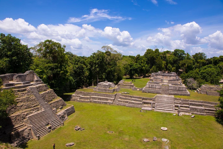Ruinele maya de la Caracol