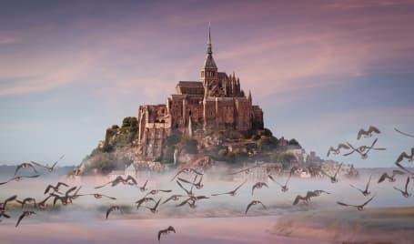 Mont Saint Michel în Franța