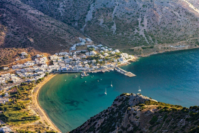 Coasta Greciei, la Kamares
