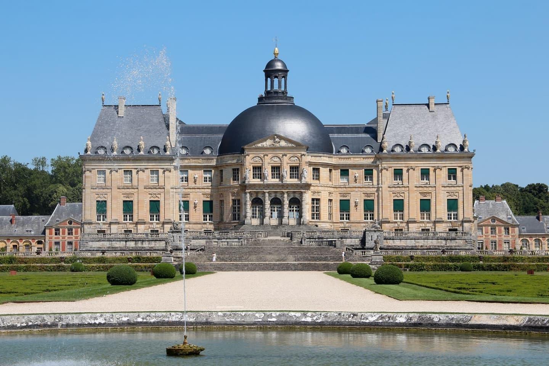 Castelul Vaux-le-Vicomte din Île-de-France