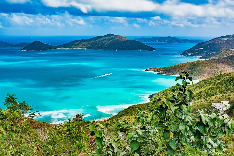Tortola, golful și plajele