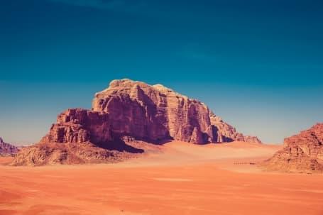 Deșertul Wadi Rum