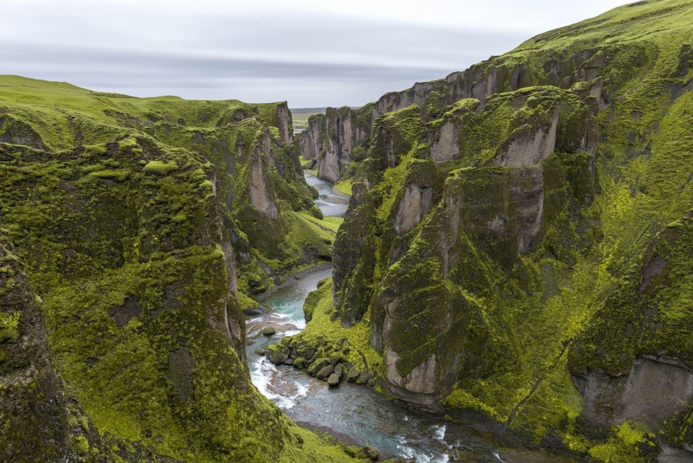 Canion în Islanda