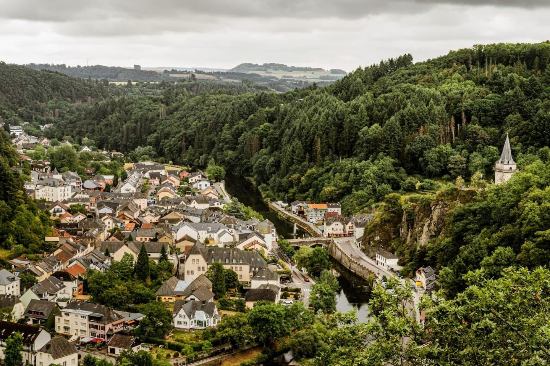Așezare pitorească în Luxemburg