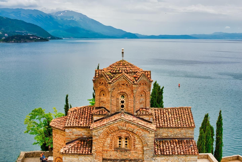Ohrid în Macedonia de Nord