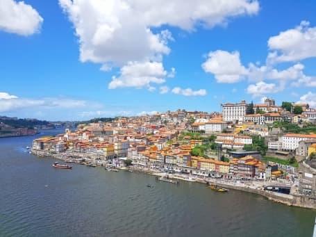 Portul orașului Porto