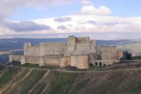 Fortăreața medievală Crac des Chevaliers