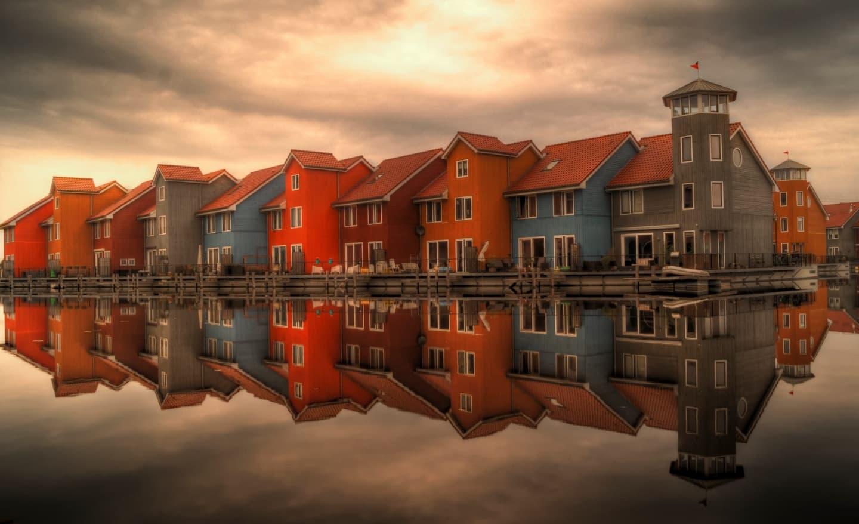 Cartierul Reitdiephaven din Groningen