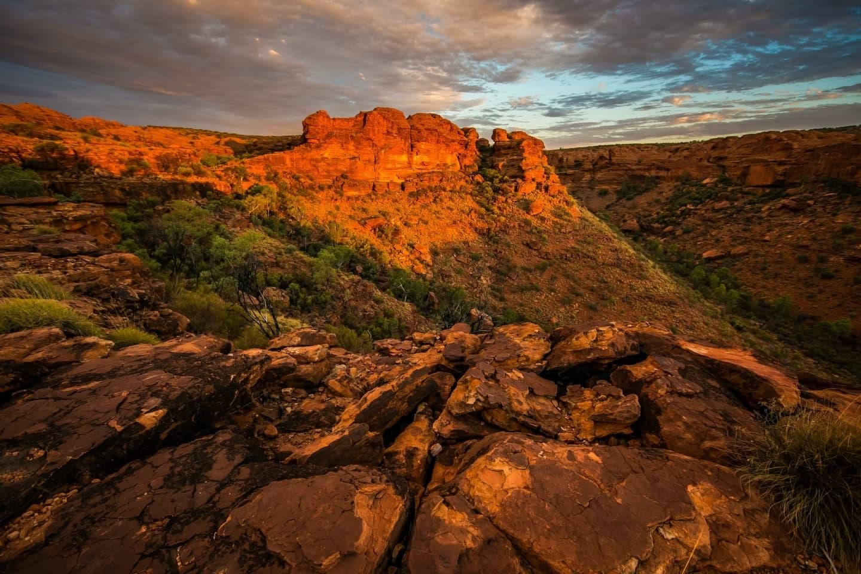 Ariditate în Canionul Regilor de lângă Perth