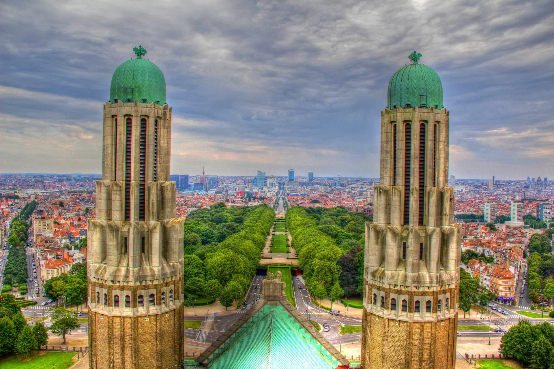 Bazilica Koekelberg din Bruxelles