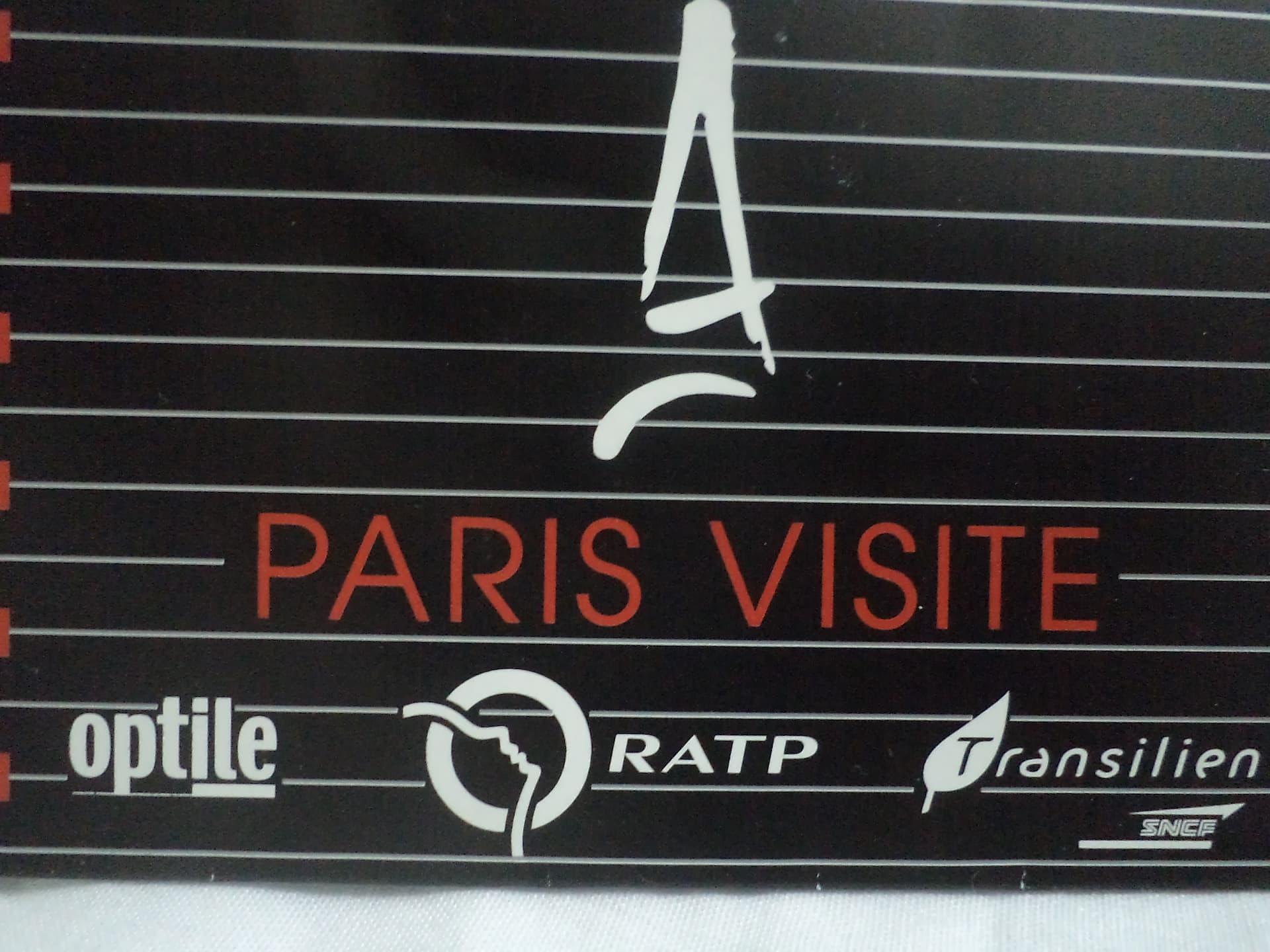 Cardul Paris Visite