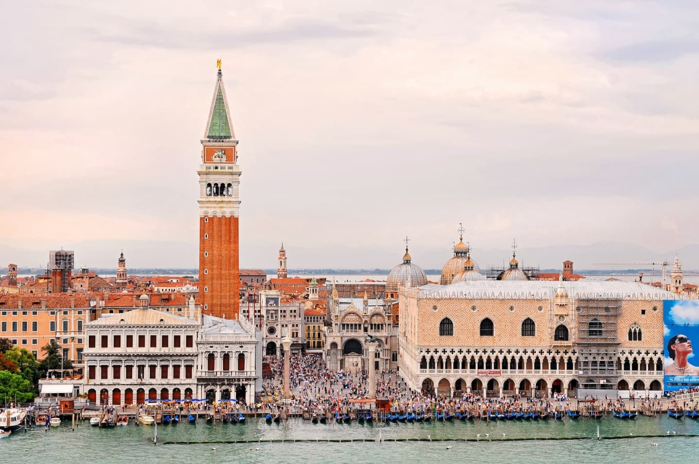 Piazza San Marco și întreg cartierul aferent