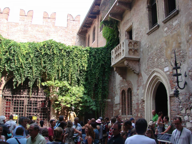 Balconul Julietei din opera lui Shakespeare