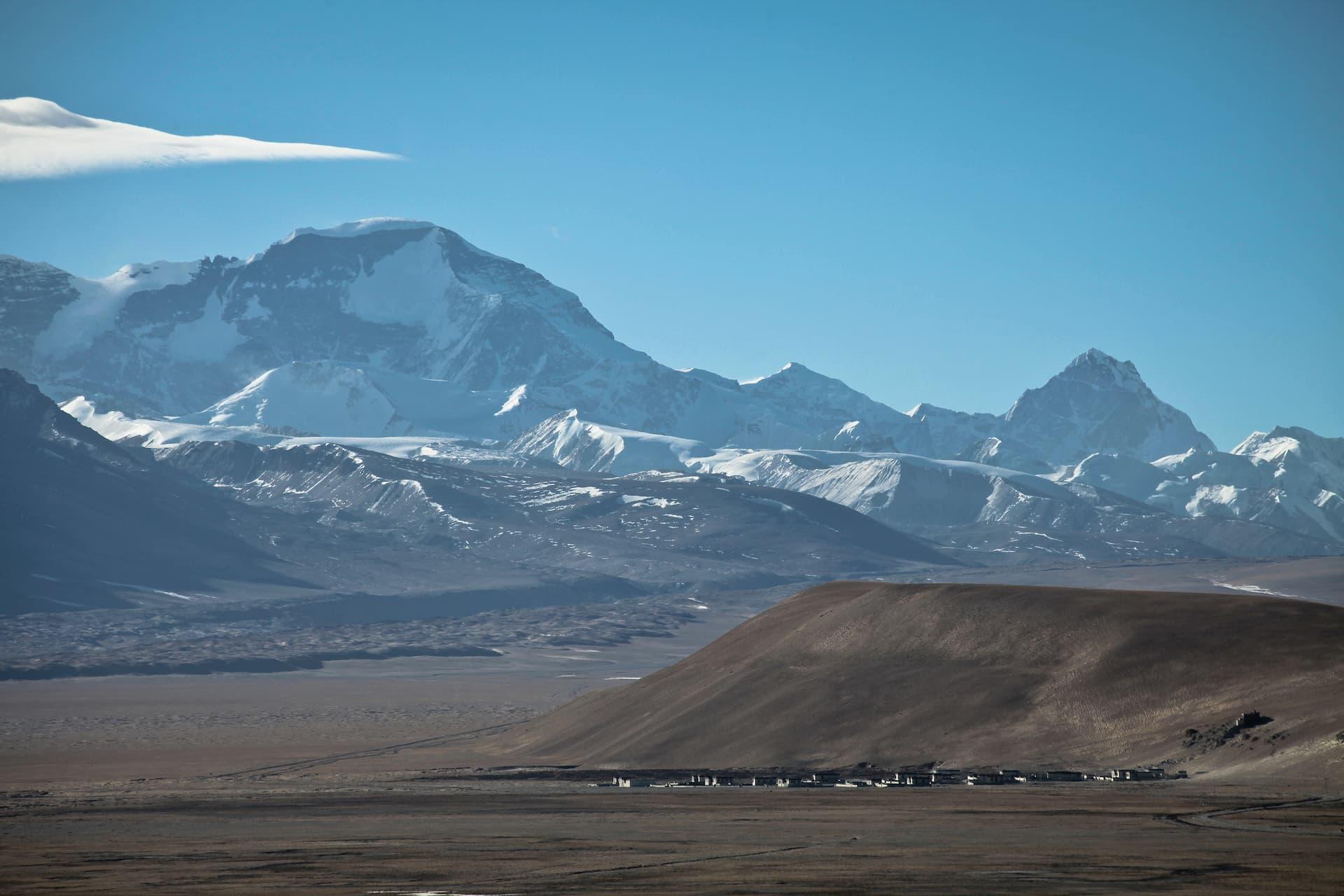 Locul 6 cei mai înalți munți - Cho Oyu