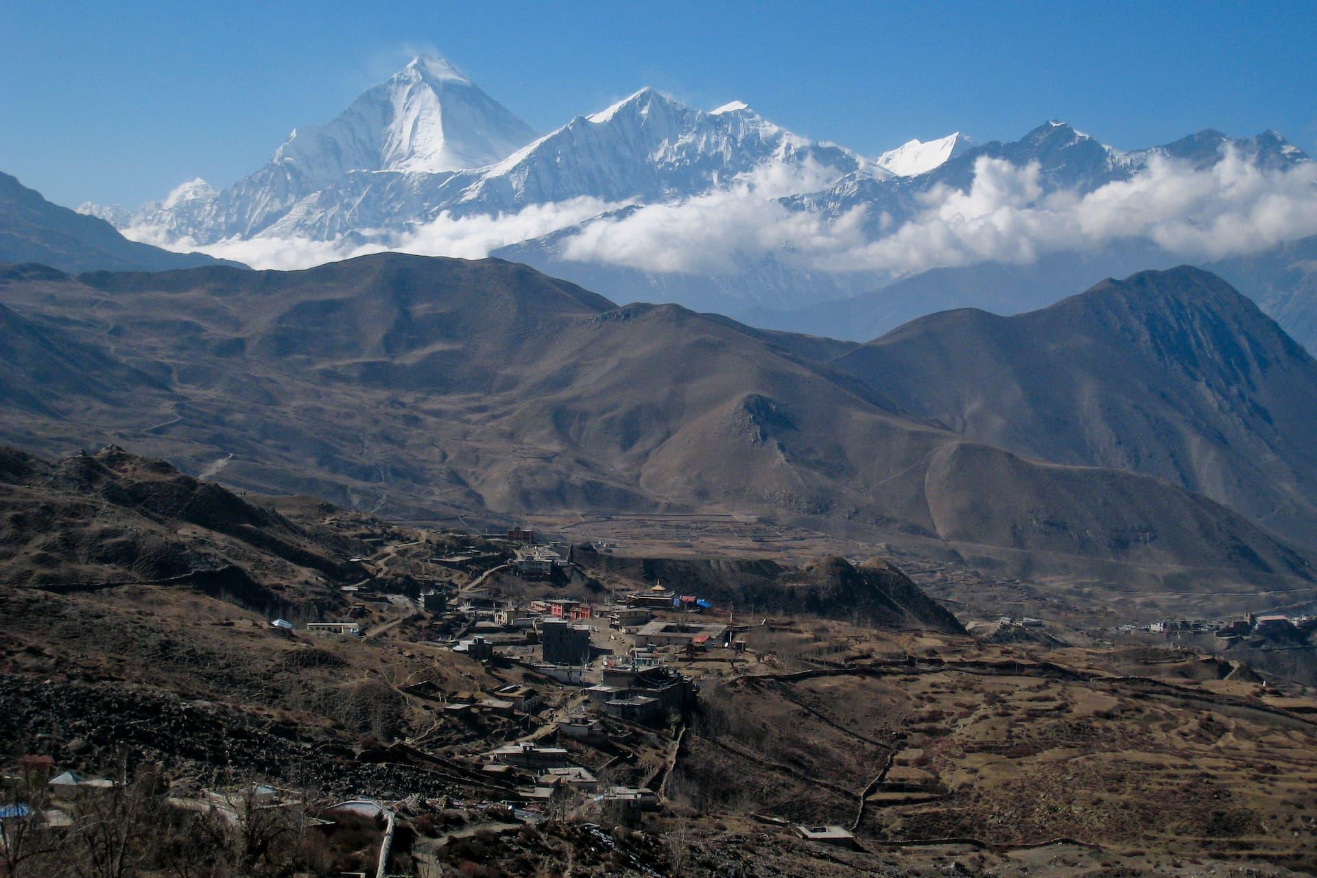 Locul 7 cei mai înalți munți - Dhaulagiri I