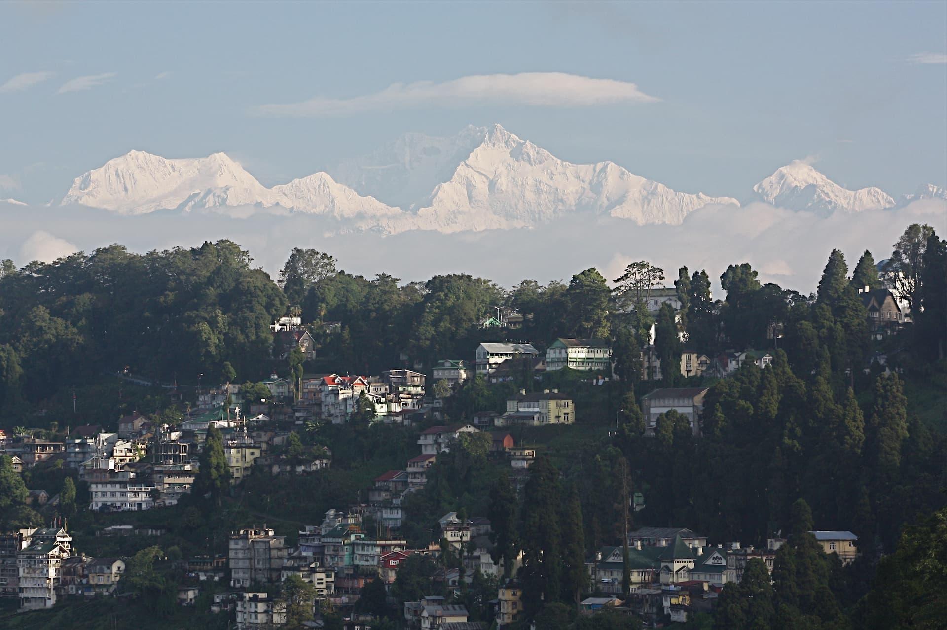 Locul 3 cei mai înalți munți - Kangchenjunga