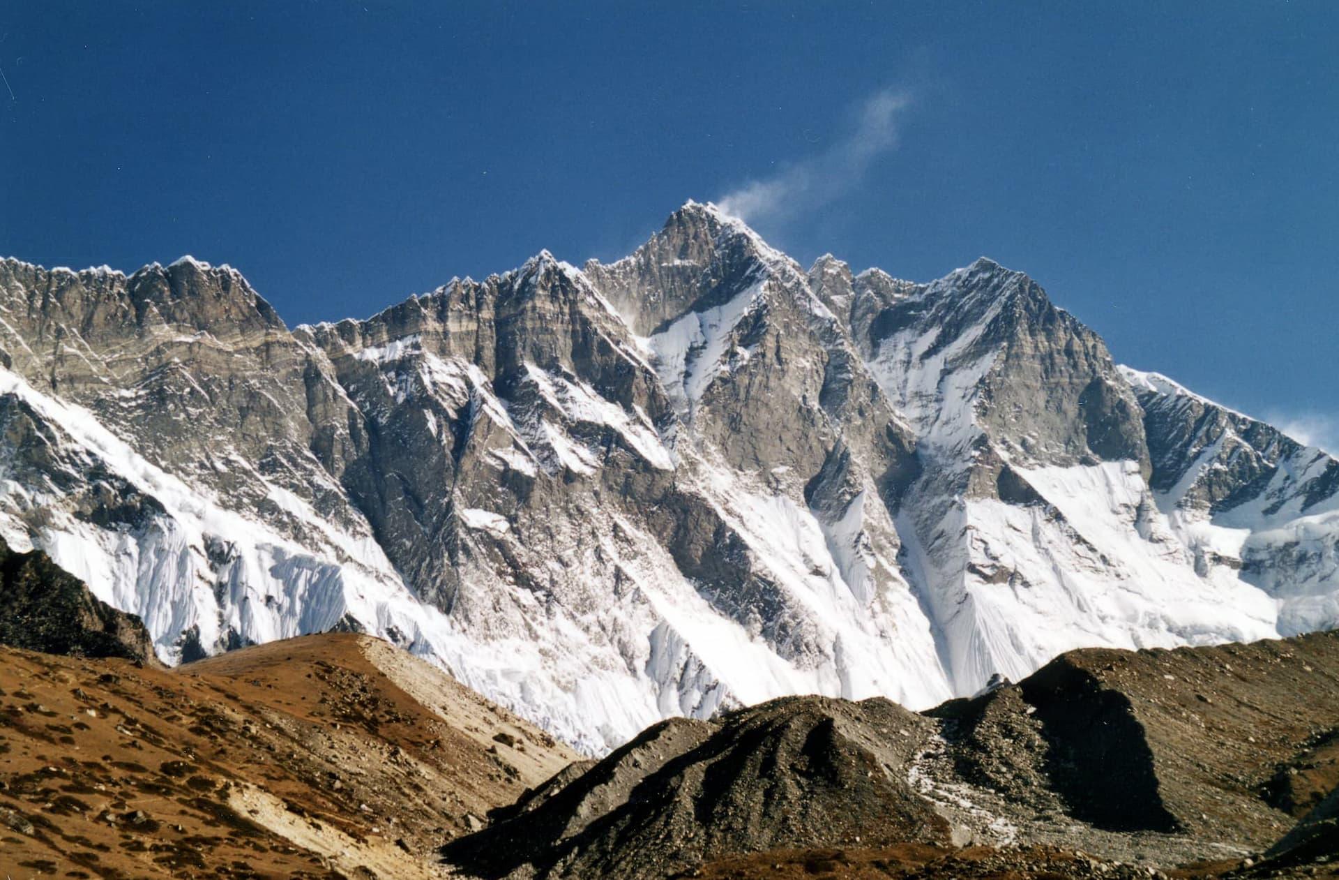 Locul 4 cei mai înalți munți - Lhotse