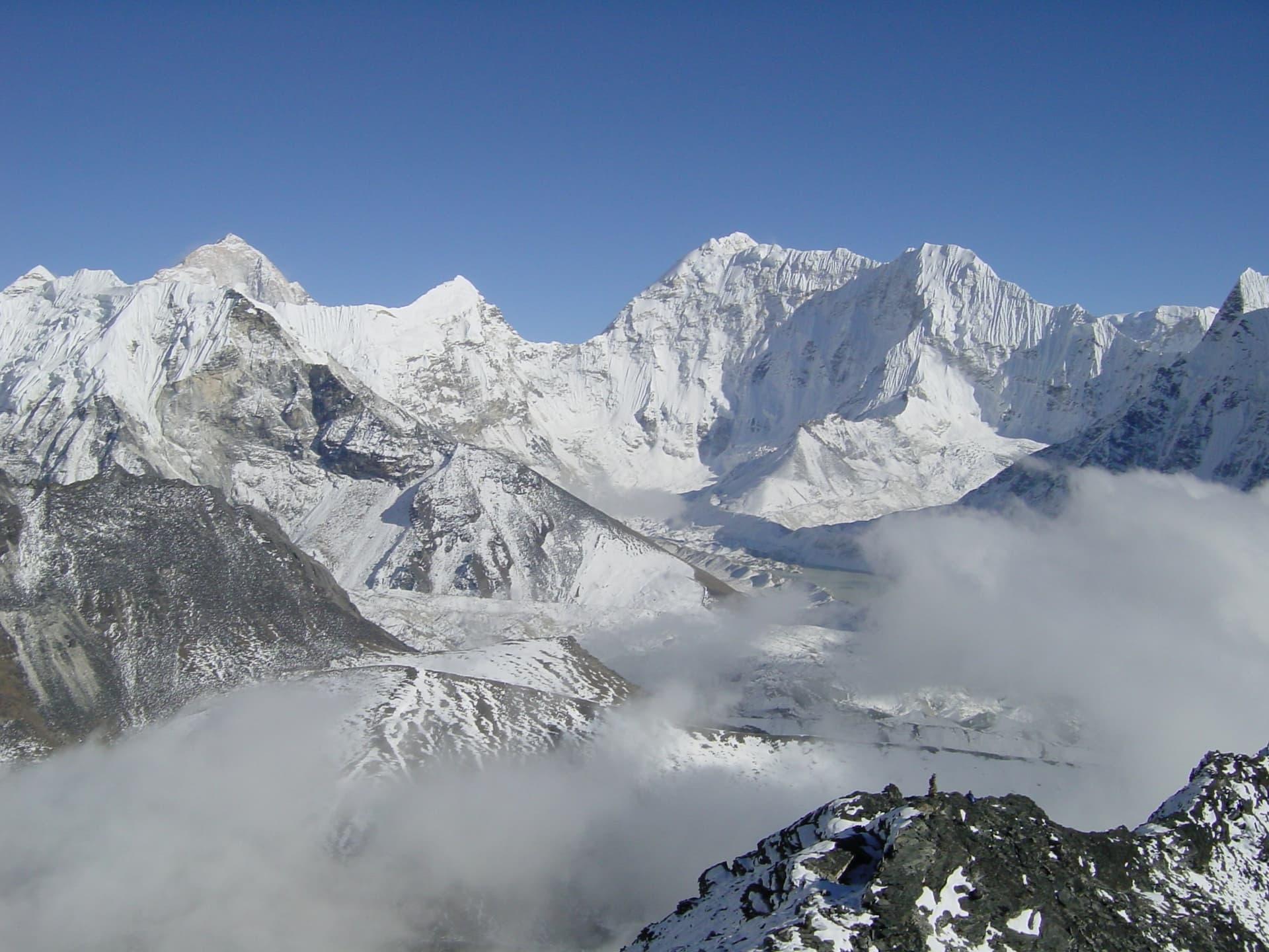 Locul 5 cei mai înalți munți - Makalu