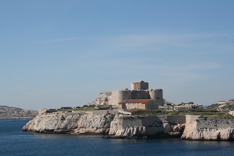 Panoramă Chateau d'If, închisoarea din opera lui Dumas