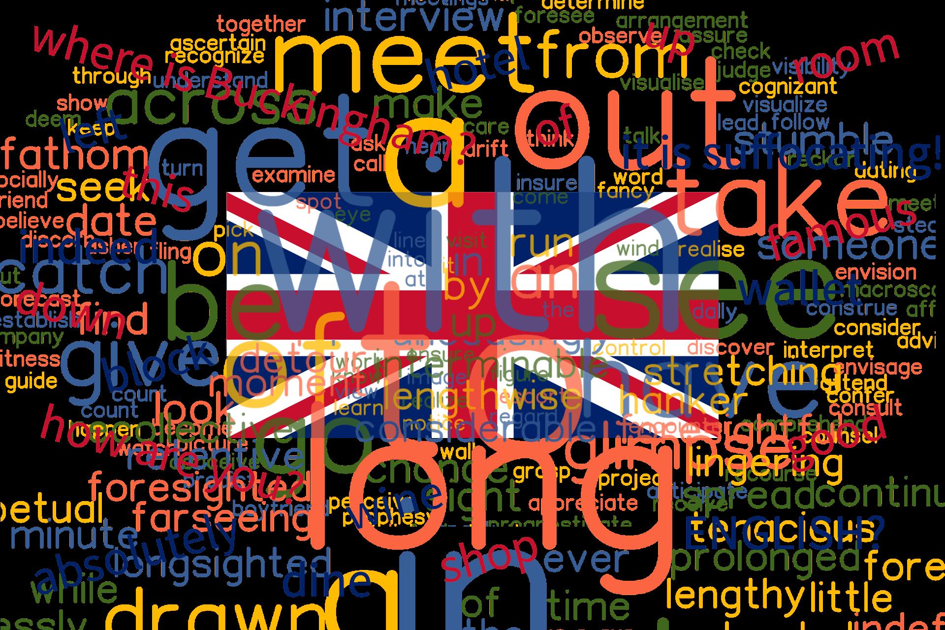Cuvinte din vocabularul limbii engleze