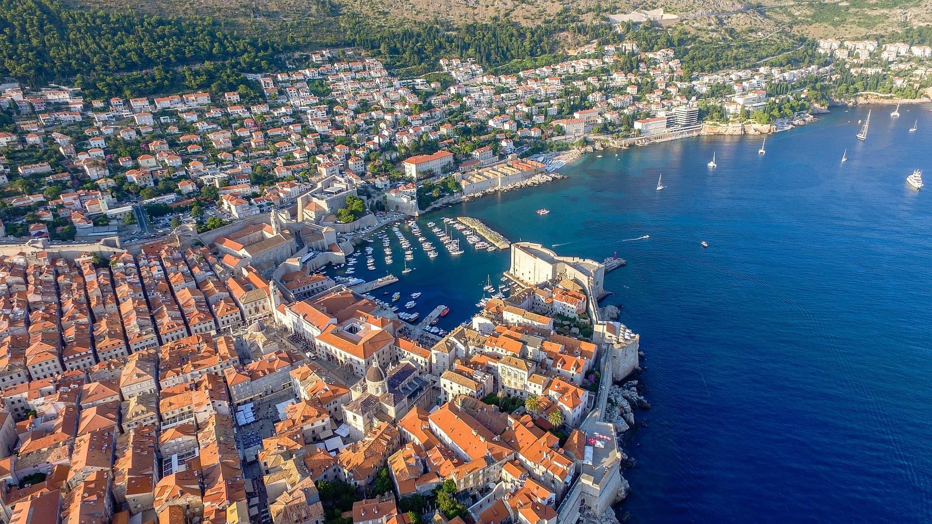 Panoramă Dubrovnik