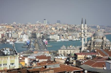 Panoramă Istanbul