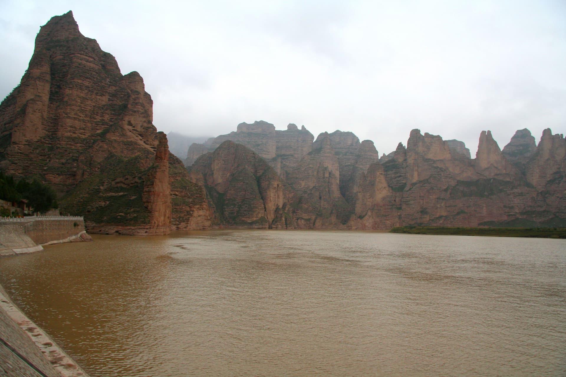 Fluviul Galben - locul 2 cele mai lungi râuri din Asia