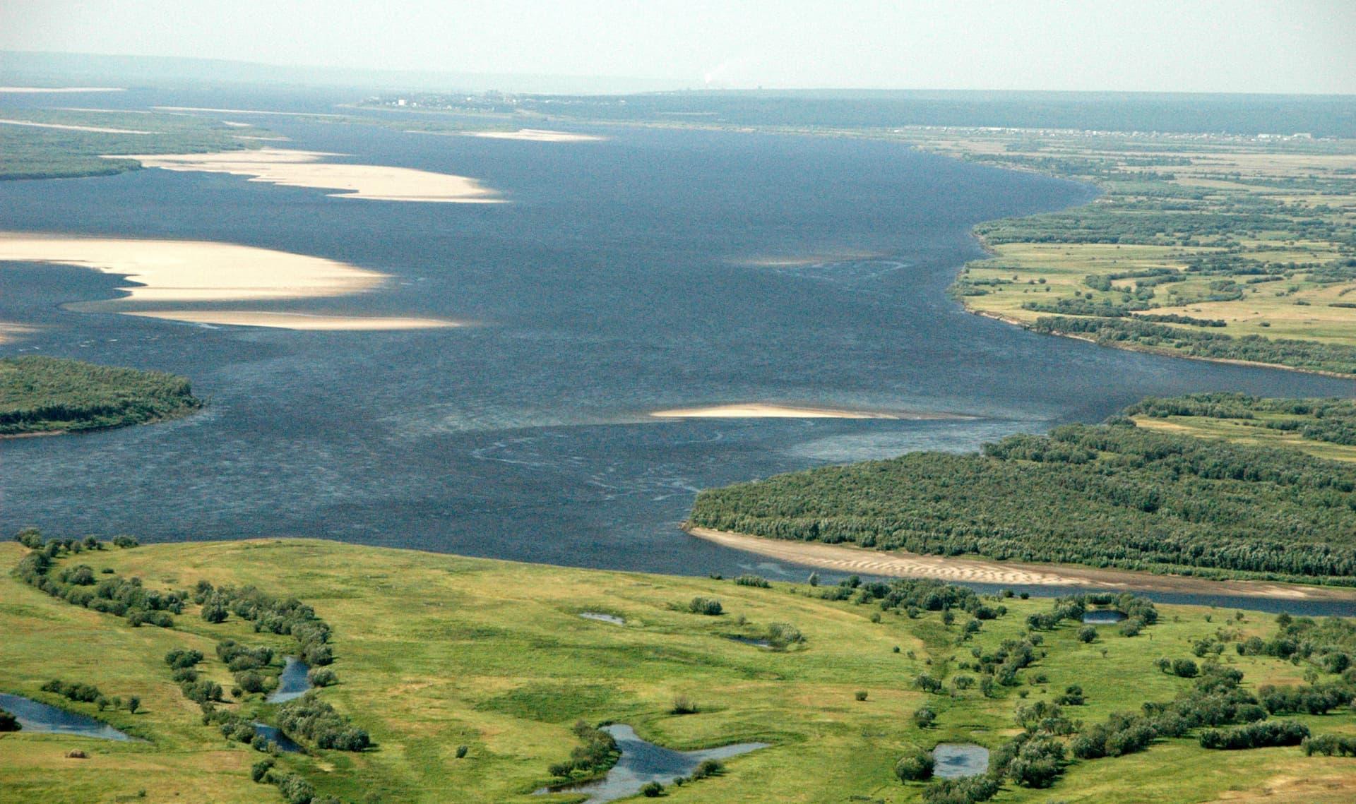 Lena - locul 4 cele mai lungi râuri din Asia