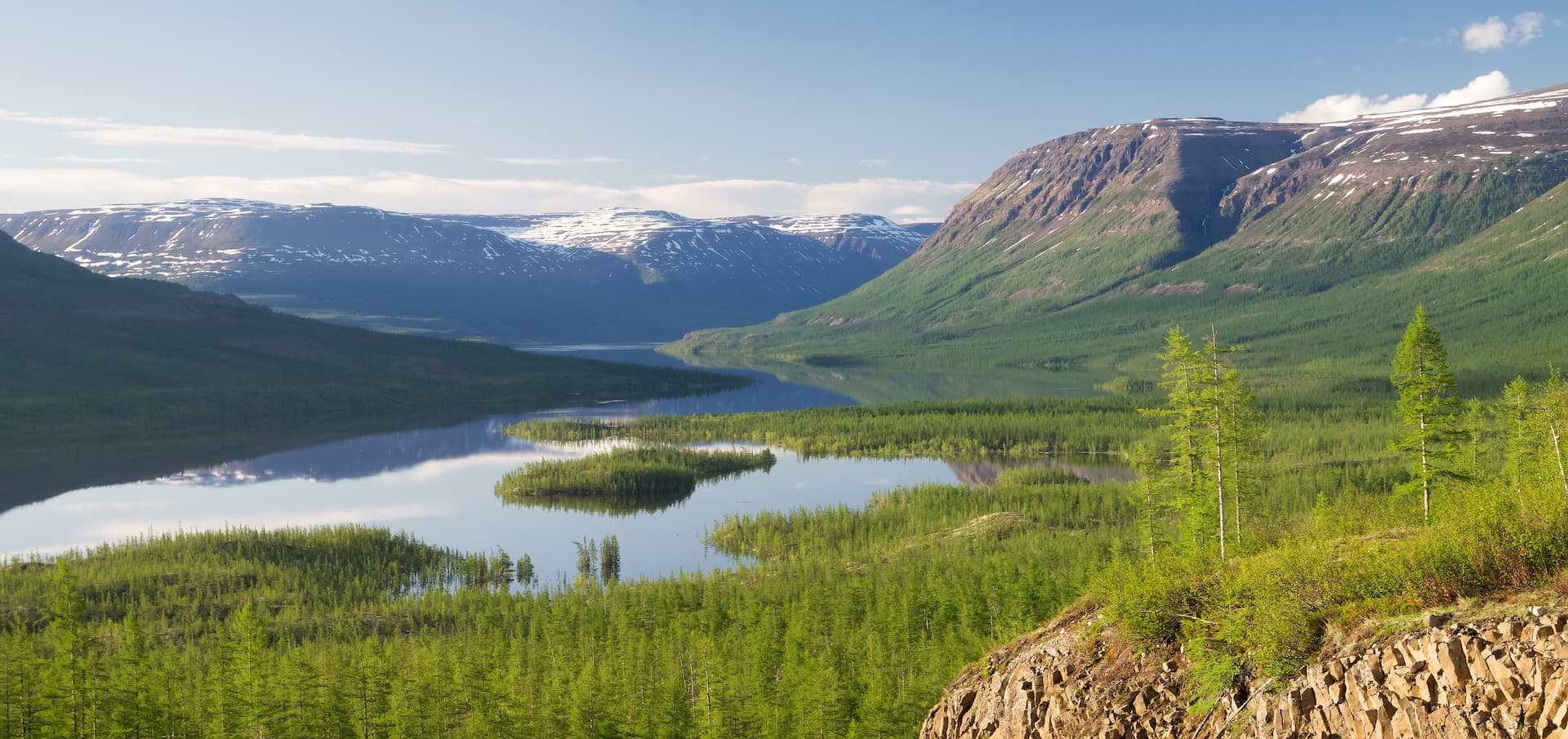 Tunguska Inferioară - locul 8 cele mai lungi fluvii din Asia