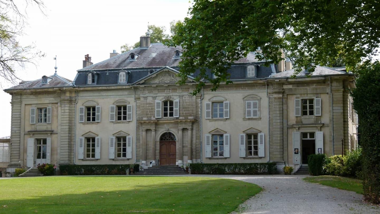 Castelul lui Voltaire din Ferney, Ain