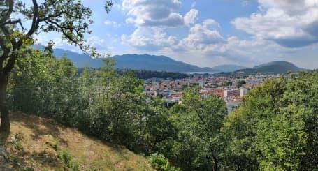 Panoramă Aix les Bains de pe dealurile din vecinătate