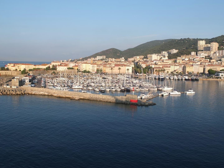 Portul din Ajaccio