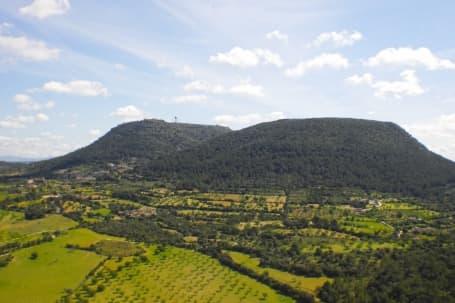 Zona rurală din jurul Algaida