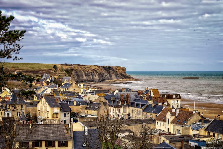 Plaja Arromanches din Calvados