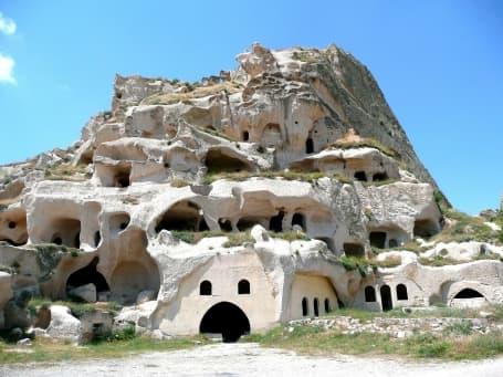 Casele în piatră din Uchisar