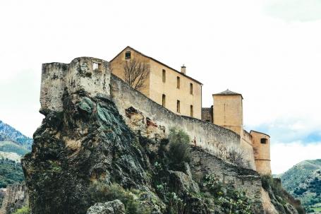 Castelul din Corte, Corsica