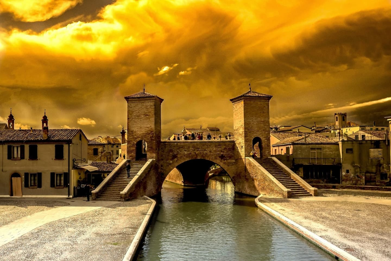Podul Treponti, Comacchio