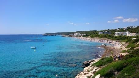 Plaja Sant Tomás, Es Migjorn Gran