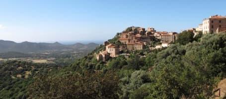 Sat în regiunea Balagne, Corsica de Nord