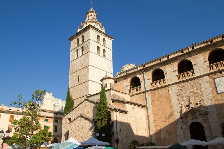 Biserica parohială Santa Maria la Major din Inca, Mallorca