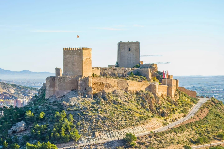 Castelul din Lorca, Murcia