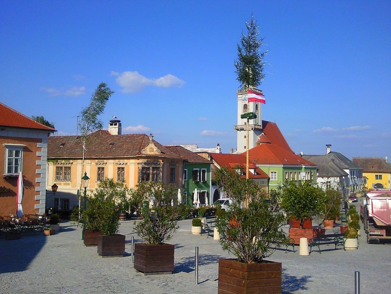 Piața centrală din Rust