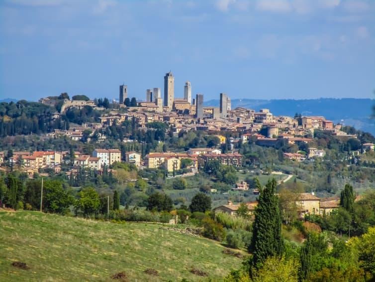 Panoramă San Gimignano