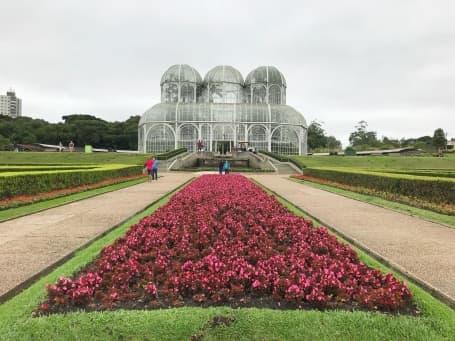 Grădina botanică din capitala regiunii, Curitiba