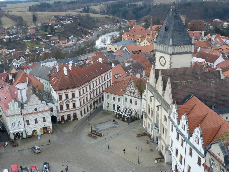 Centrul orașului Tábor