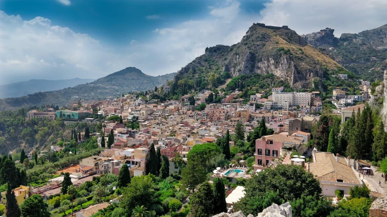 Panoramă Taormina