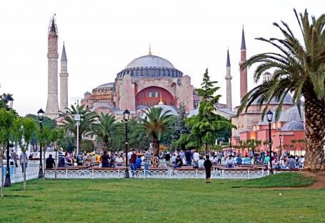 Moscheea Hagia Sofia din Istanbul