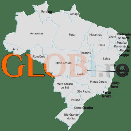 Hartă online regiuni Brazilia