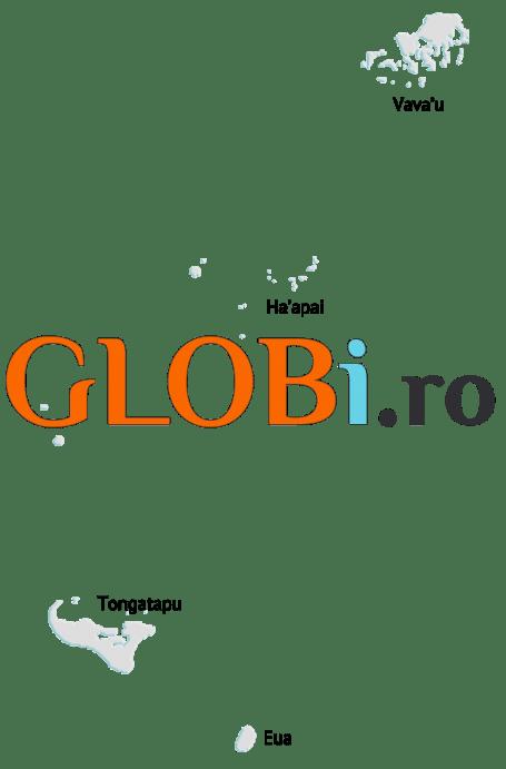 Hartă online Tonga