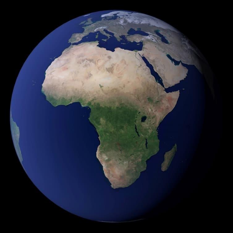 Lista alfabetică a țărilor Africii